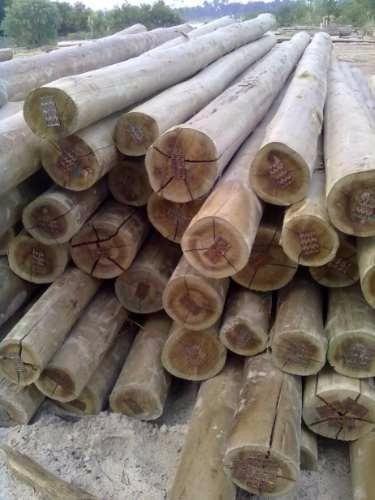 postes de madera de 7.50 metros