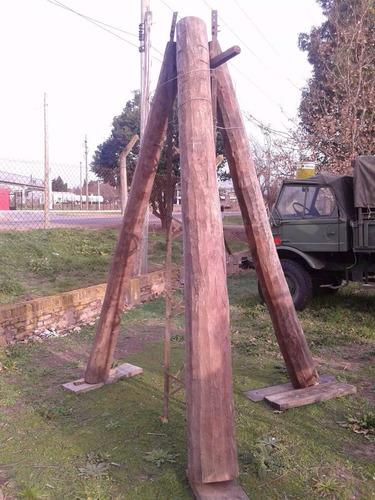 postes de quebracho colorado