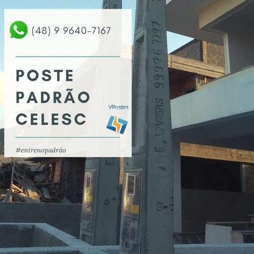 postes padrão celesc e serviços elétricos