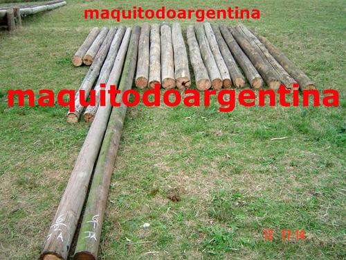 postes, palos, de madera, construccion, preparacion de kits