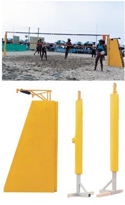 postes para volleyball playero