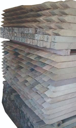 postes plásticos para cerca 7x6x200cm - kg a $2917