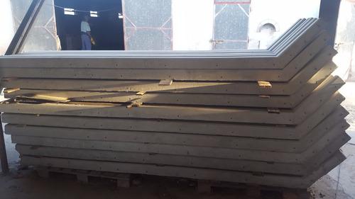 postes rectos alambrados cercos  hormigon