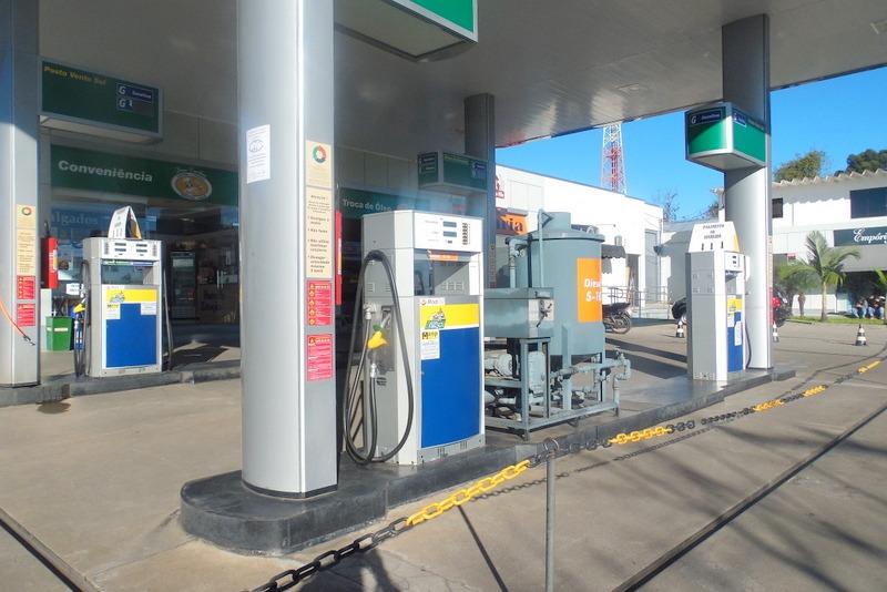 posto de combustível em rosário do sul - rs