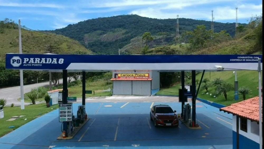 posto de gasolina com solo próprio e condomínio fechado