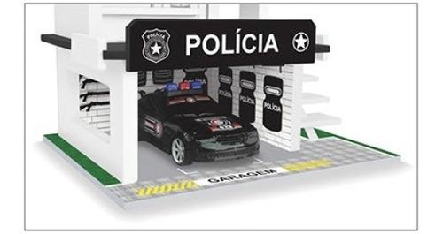 posto de polícia brinquedo infantil em madeira junges 092