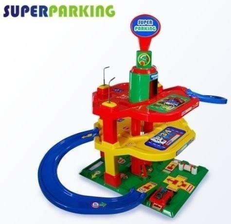 posto super parking pistas elevador lava rapido - maptoy