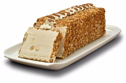 postre helado bombón escoses, suizo, almendrado y cassata