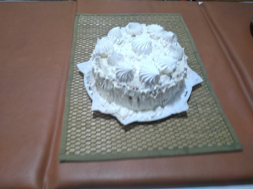 postre tipo chaja - tortas infantiles