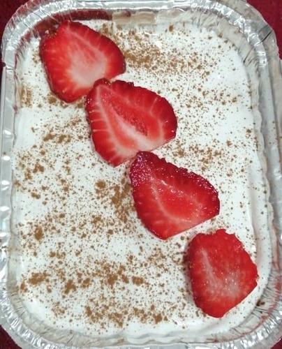 postres caseros torta chocolate fresa tres leche crema dulce