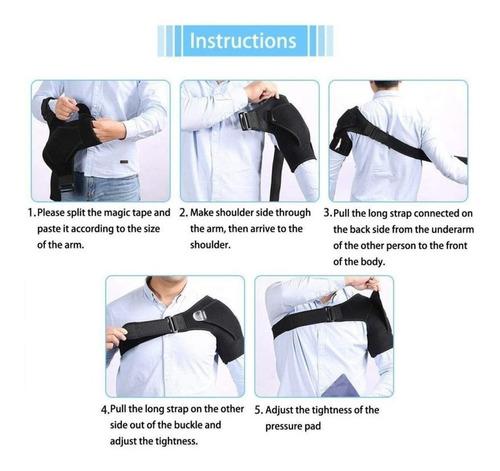 postura corrector soporte magnético hombro volver brace cin