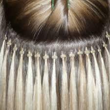 postura extensiones de cabello punto a punto (microlink)