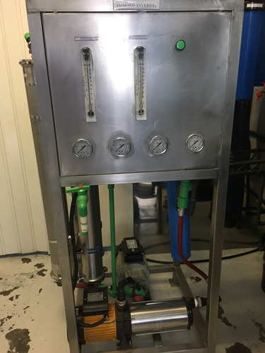 potabilizadora agua potable osmosis inversa funcionando