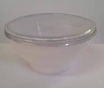 pote acrílico branco 150ml c/tampa c/400un - bolo doce