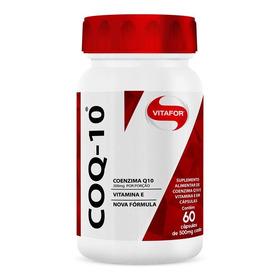 Pote Coq-10 60 Cápsulas Vitamina E Coenzima Q10 - Vitafor