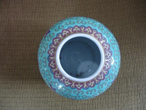 pote de porcelana chinesa antigo
