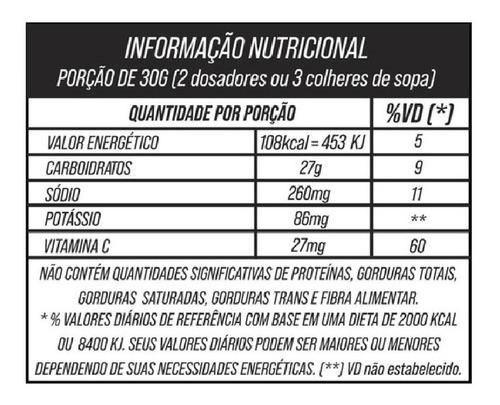 pote energy pro 750g morango maracujá sudract palatinose