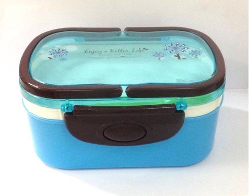 pote marmitex 2 compartimentos rosa microondas freezer