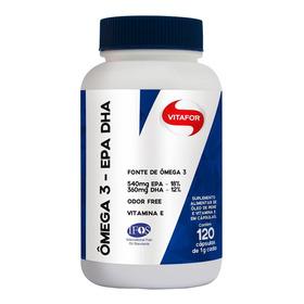 Pote Omega 3 Epa Dha 1000mg - Vitafor 120 Cápsulas