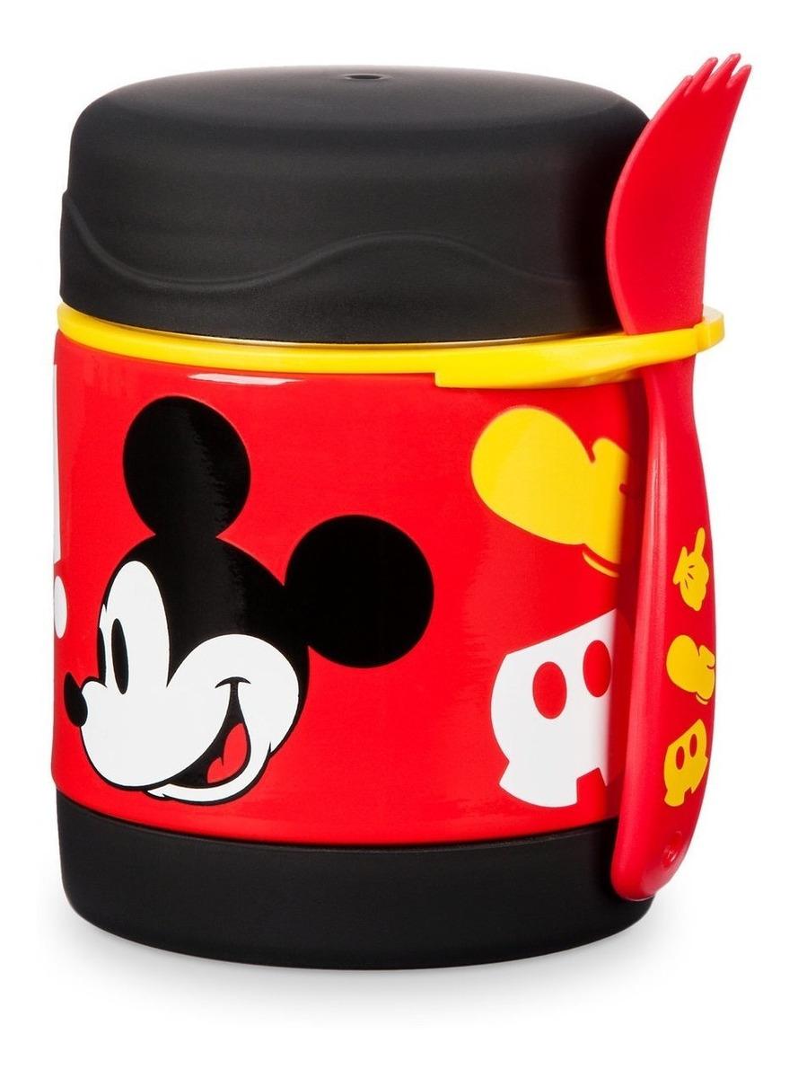 Pote Termico Disney Mickey Com Risco Ver Foto Nos Detalhes R
