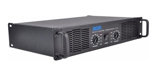 potencia 12 cuotas amplificador moon pm120 480w 2 canales