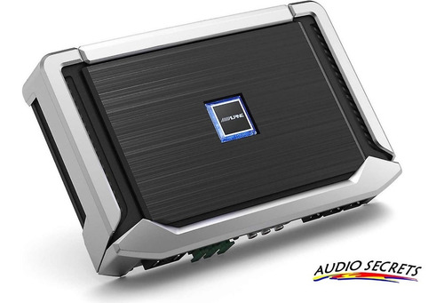 potencia alpine x-a90m 900 watts rms x 1 - audio secrets
