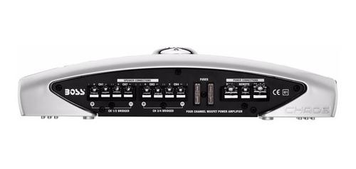 potencia / amplificador boss cx600 800w 4 canales