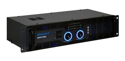 potencia amplificador oneal op 1700 - 220wrms garantia 1 ano