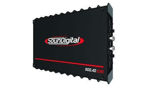 potencia amplificador soundigital 800.4d evo ii (4 ohmios)