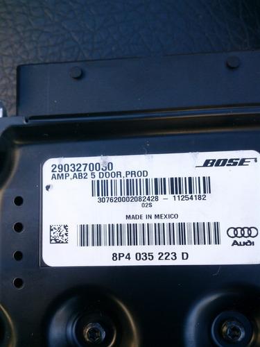 potencia bose original audi  a3-a4-s3-s4. producto nuevo