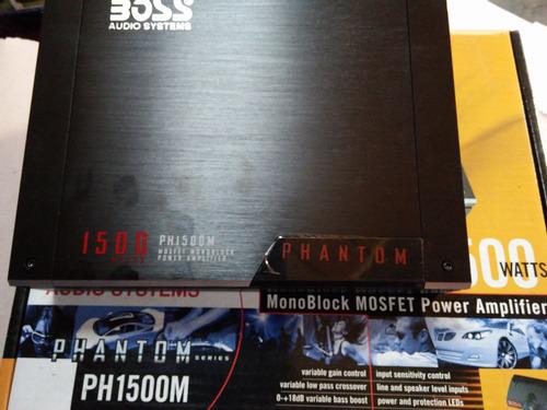 potencia boss monoblock ph150 1500w