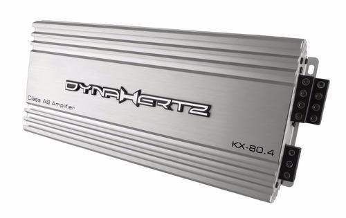 potencia dynahertz kx80.4  144 rms 2 ohms x4 puenteable