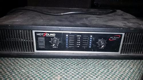 potencia hotsound 2150 (300w) 2 canais