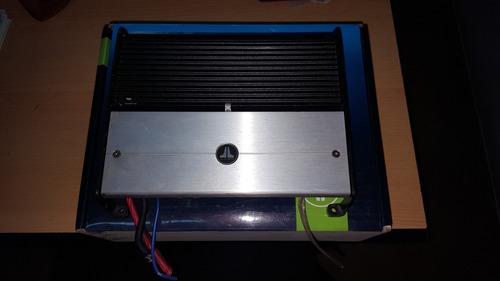potencia jl audio xd600/1 600w monoblock digital impecable