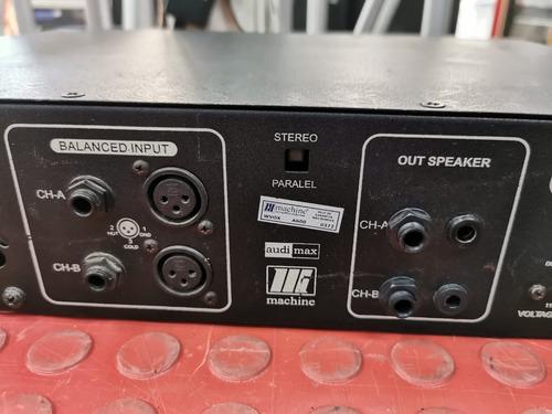 potencia machine a600 wvox 200watts perfeita!