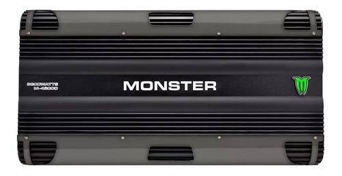 potencia monster digital m-4200d rms 6800w monoblock