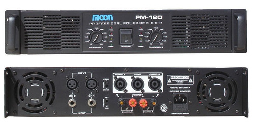 potencia moon pm-120 700w en modo puente by dancis