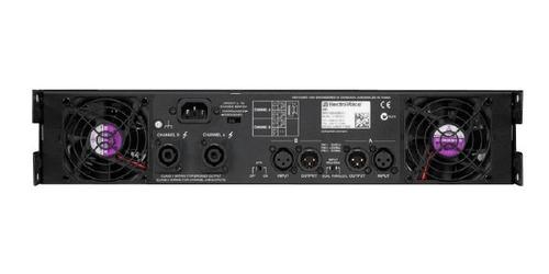 potencia q1212 electro voice dj audio consola equipo sonido