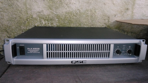 potencia qsc plx 2502 made in usa inmaculada en caja