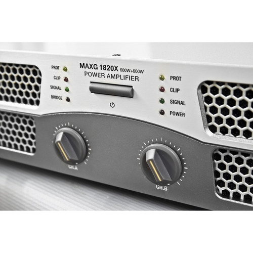 potencia skp maxg-1820x - 450+450w 8ohms /1800 puente