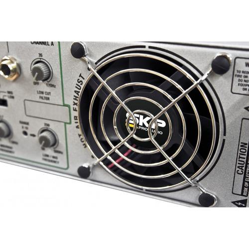 potencia skp maxg-1820x - 450rms+450rms 8ohms / 1800 puente