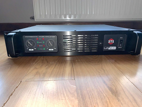 potencia sts lp200 + 2 parlantes 60w