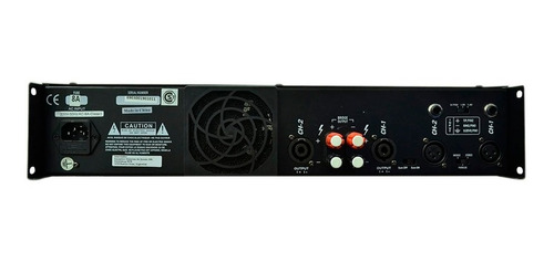 potencia sts lp300 de 2 canales con entrada balanceada 1200w