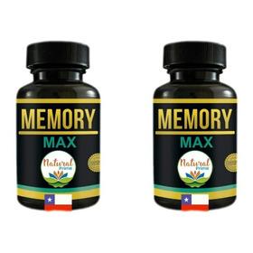 Potencia Tu Cerebro Con Memory Max Vitamina Estudio Pastilla