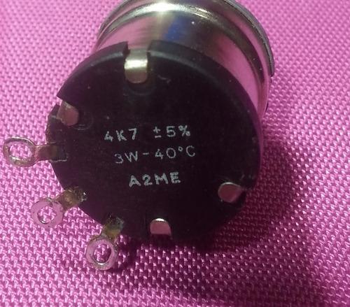 potenciômetro  4k7 3 watts 5%