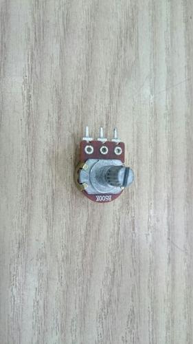 potenciômetro 500k 16mm - kit c/500 pcs