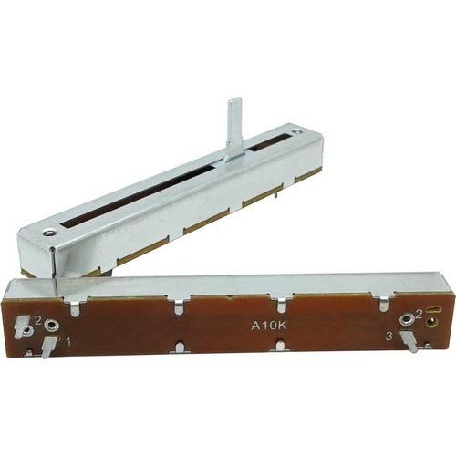 potenciômetro deslizante mono 10ka a10k a103 percurso 60mm