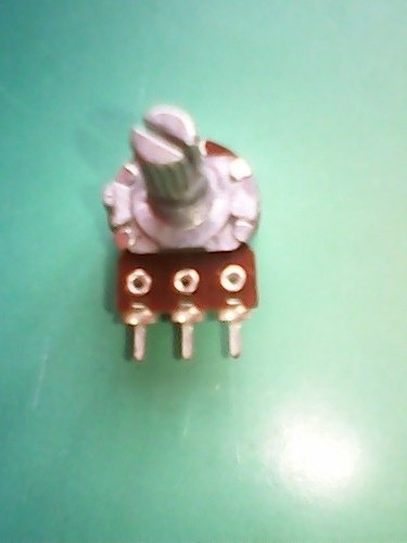 potenciômetro rotativo 50k linear. 16mm. pacote c/ 10 peças
