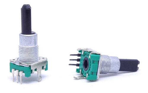 potenciômetro rotativo encoder com rosca 3 terminais