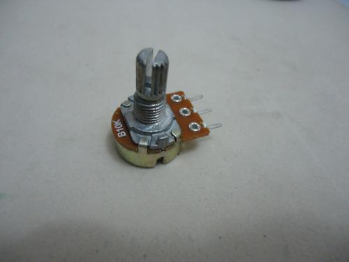potenciometro 16 mm l20 10k com 6 peças